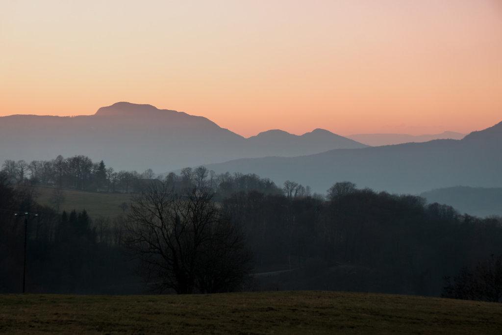 Dans les Bauges - Savoie